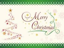 圣诞快乐桌面背景 免版税库存图片