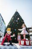 圣诞快乐的装饰 库存照片