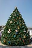 圣诞快乐的装饰 免版税库存图片