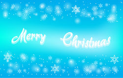 圣诞快乐看板卡向量 免版税库存照片