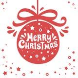 圣诞快乐看板卡 皇族释放例证