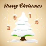 圣诞快乐背景 免版税图库摄影