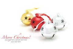 圣诞快乐装饰背景 库存照片