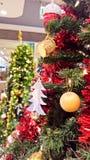 圣诞快乐设备为运用庆祝新年 库存照片