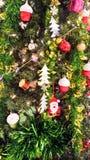 圣诞快乐设备为运用庆祝新年 图库摄影