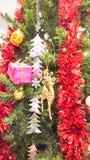 圣诞快乐设备为运用庆祝新年 免版税库存照片