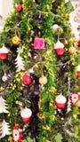 圣诞快乐设备为运用庆祝新年 免版税库存图片