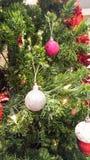 圣诞快乐设备为运用庆祝新年 库存图片