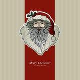 圣诞快乐设计 美好的圣诞节设计例证向量 Xmas设计 免版税库存图片