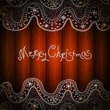 圣诞快乐设计 美好的圣诞节设计例证向量 Xmas设计 免版税库存照片