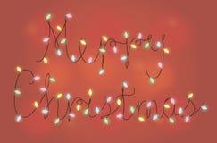 圣诞快乐诗歌选 免版税库存图片