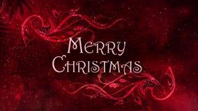圣诞快乐金银丝细工 库存例证