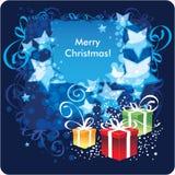 圣诞快乐,贺卡 免版税图库摄影