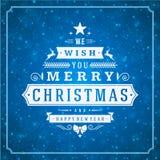 圣诞快乐贺卡光和 库存照片