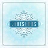 圣诞快乐贺卡光和 免版税图库摄影