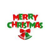 圣诞快乐贺卡 免版税库存图片