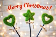 圣诞快乐2017年 免版税库存图片