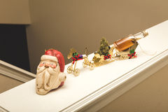圣诞晚会厚待 库存图片