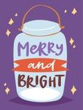 圣诞晚会邀请传染媒介卡片设计模板noel Xmas假日庆祝clipart新年圣诞老人 库存照片