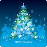 圣诞树。 向量例证 库存照片