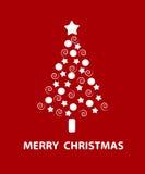 圣诞树。 向量例证