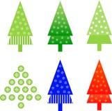 圣诞树例证 免版税库存照片