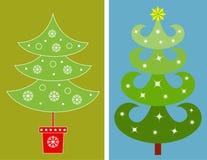 圣诞树例证 库存图片