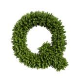 圣诞树信件Q 皇族释放例证