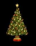 圣诞树加州 免版税库存图片
