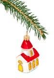 圣诞树和玩具 免版税库存图片