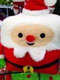 圣诞树圣诞老人 图库摄影