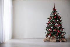 圣诞树圣诞节装饰礼物 免版税图库摄影
