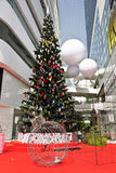 圣诞树在曼谷 免版税库存照片