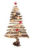 圣诞树摘要 免版税库存照片