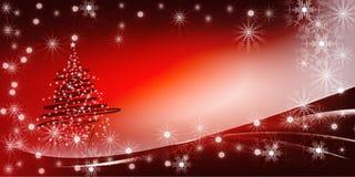 圣诞树明亮的梯度背景 免版税图库摄影