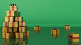 圣诞树概念 免版税图库摄影