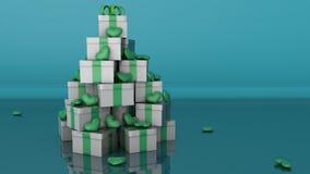 圣诞树概念 库存图片