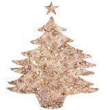 圣诞树模板 库存图片