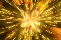 圣诞树灯光管制线  库存图片