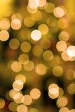 圣诞树点燃背景 免版税库存图片