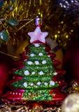 圣诞树玩具 库存照片