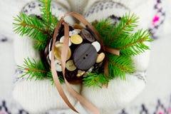 圣诞树球 图库摄影