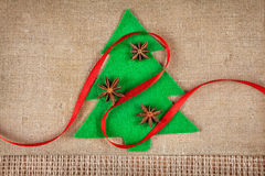 圣诞树用香料 免版税库存图片