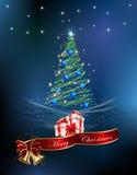 圣诞树的圣诞节装饰, 免版税库存图片