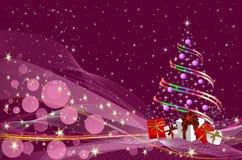 圣诞树的圣诞节装饰, 库存图片