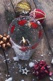 圣诞树的装饰 库存图片
