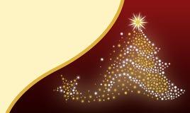 圣诞树背景 库存照片