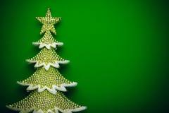 圣诞树背景 免版税图库摄影