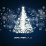 圣诞树背景 图库摄影