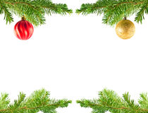 圣诞树节假日装饰品停止 免版税图库摄影
